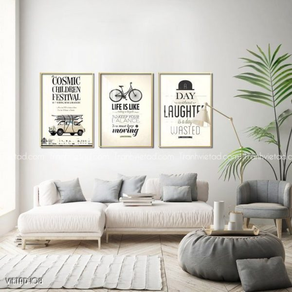 Tranh Vintage quotes