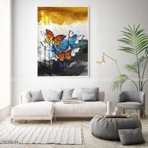 Tranh vẽ bướm