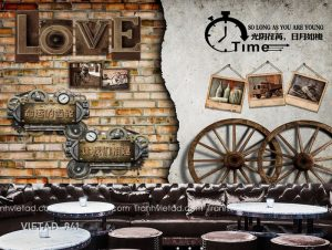 Tranh Dán Tường 3D Coffee VIETAD-941
