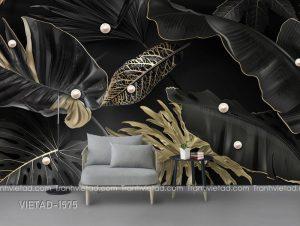 Tranh Dán Tường 3D Lá Cây VIETAD-1575