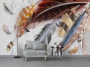 Tranh dán tường long vũ VIETAD-721