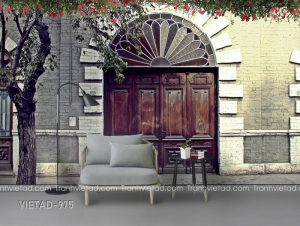 Tranh Dán Tường 3D Nền Tường VIETAD-975