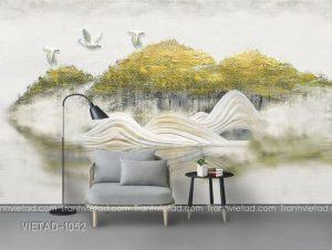 Tranh Dán Tường 3D Phong Cảnh VIETAD-1052