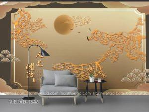 Tranh Dán Tường 3D Phong Cảnh VIETAD-1646