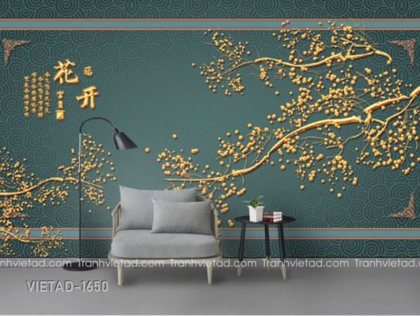 Tranh Dán Tường 3D Phong Cảnh VIETAD-1650