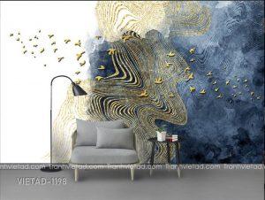 Tranh Dán Tường 3D Trừu Tượng VIETAD-1198
