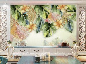 Tranh dán tường hoa VIETAD-611
