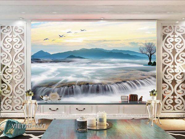 Tranh dán tường phong cảnh VIETAD-647