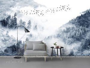 Tranh dán tường phong cảnh VIETAD-774