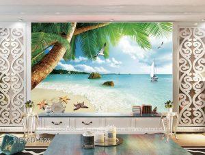 Tranh dán tường phong cảnh biển VIETAD-524