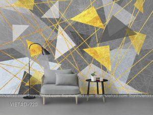 Tranh dán tường trừu tượng VIETAD-720