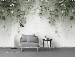 Tranh Dán Tường 3D Tường Nền VIETAD-1137