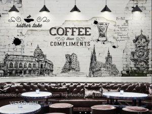 Tranh Dán Tường Coffee VIETAD-1061