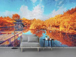 Tranh Dán Tường Phong Cảnh VIETAD-917