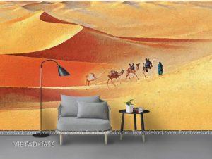 Tranh Dán Tường Phong Cảnh Sa Mạc VIETAD-1656
